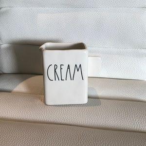 NWT Rae Dunn cream container